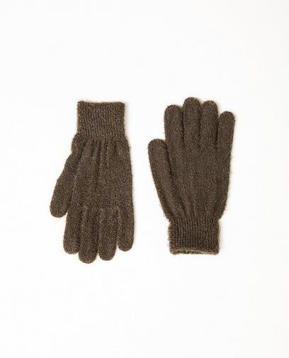 Kaki handschoenen